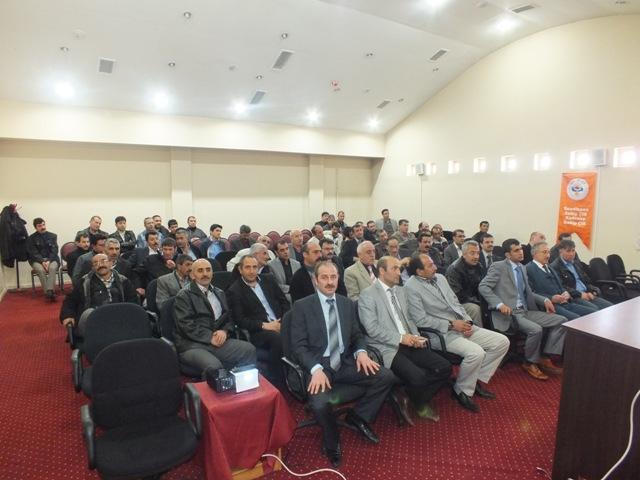 Eşit Haklar Sendikası Erzurum İl Başkanlığı Toplantısı